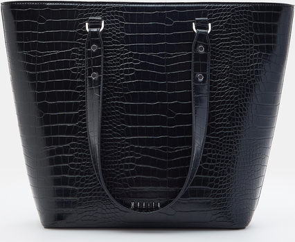 Czarna torebka Mohito duża