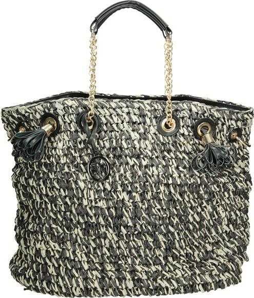 Czarna torebka NOBO duża w wakacyjnym stylu