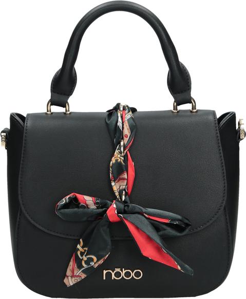 Czarna torebka NOBO średnia