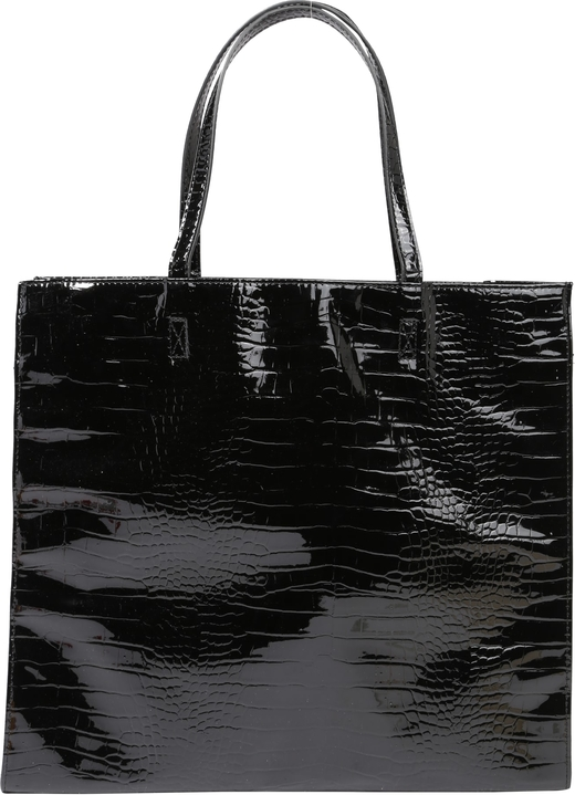 Czarna torebka Pieces duża