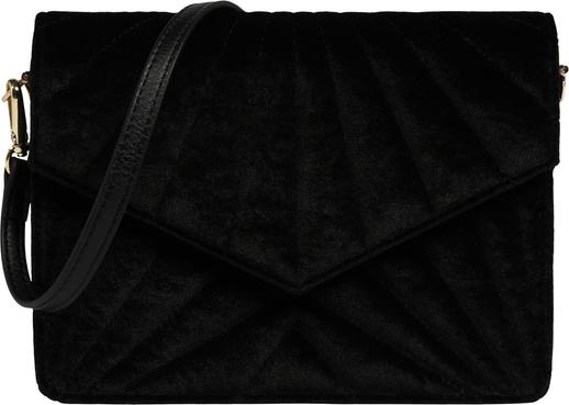 Czarna torebka Pieces średnia matowa