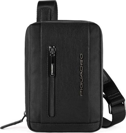 Czarna torebka PIQUADRO do ręki