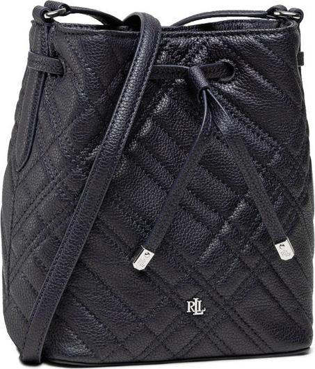 Czarna torebka Ralph Lauren na ramię