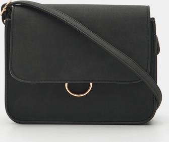 Czarna torebka Sinsay na ramię średnia