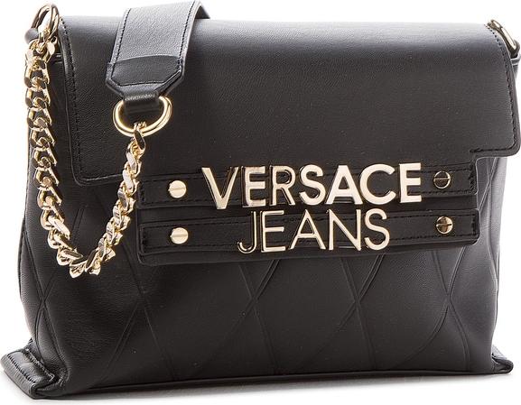 Czarna torebka Versace Jeans w stylu casual