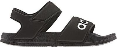 Czarne buty dziecięce letnie Adidas