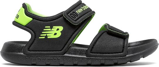 Czarne buty dziecięce letnie New Balance dla chłopców na rzepy