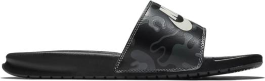 Czarne buty letnie męskie Nike w stylu casual ze skóry