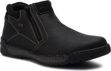 Czarne buty Rieker