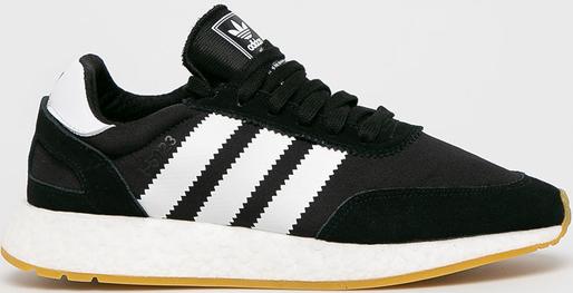 Czarne buty sportowe Adidas Originals ze skóry
