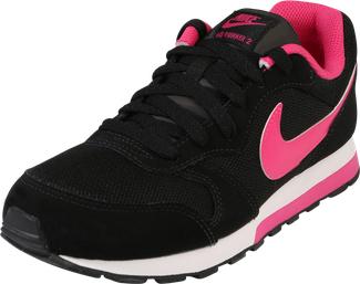 Czarne buty sportowe dziecięce nike sportswear dla dziewczynek