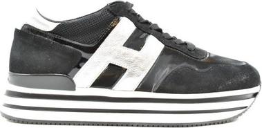 Czarne buty sportowe Hogan