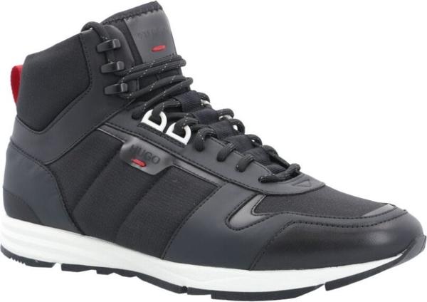 Czarne buty sportowe Hugo Boss