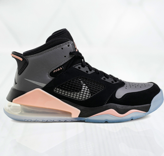 Czarne buty sportowe Jordan air max 270 sznurowane
