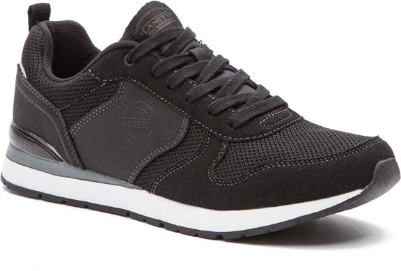 Czarne buty sportowe Lanetti