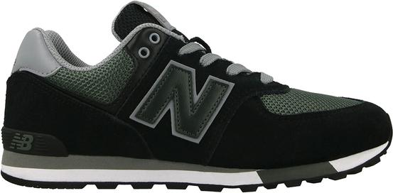 Czarne buty sportowe New Balance sznurowane z płaską podeszwą 574