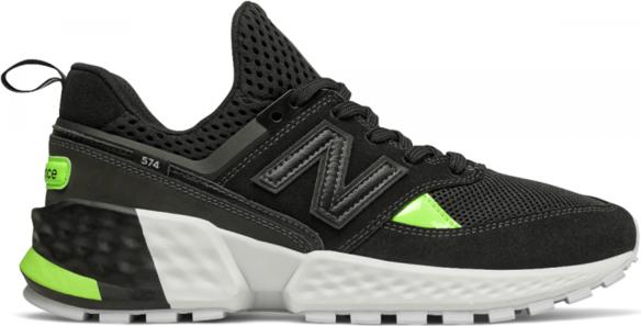 Czarne buty sportowe New Balance z zamszu 574