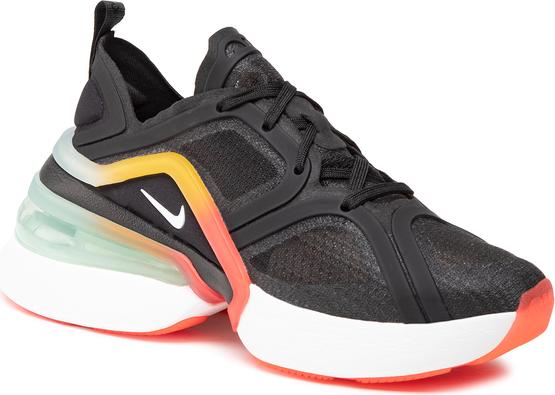 Czarne buty sportowe Nike air max 270 w sportowym stylu