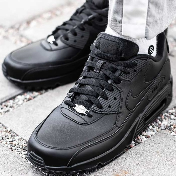 Czarne buty sportowe Nike air max 90