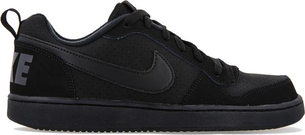 Czarne buty sportowe Nike sznurowane z płaską podeszwą