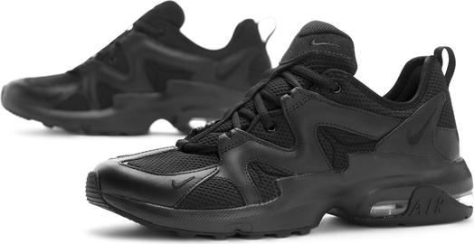 Czarne buty sportowe Nike ze skóry