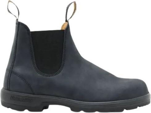 Czarne buty zimowe Blundstone w stylu casual ze skóry