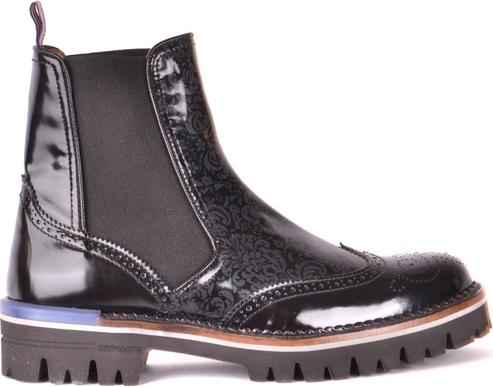 Czarne buty zimowe Brimarts