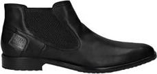 Czarne buty zimowe Bugatti