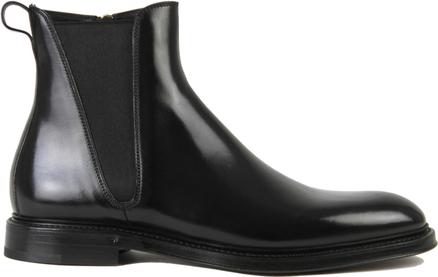Czarne buty zimowe Dolce & Gabbana
