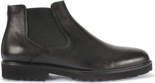 Czarne buty zimowe Domeno