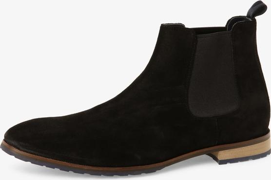 Czarne buty zimowe Gordon & Bros.