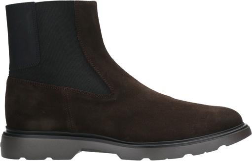 Czarne buty zimowe Hogan