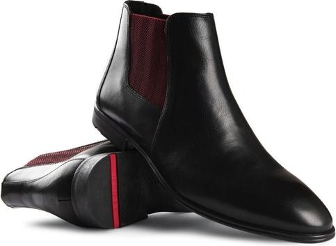 Czarne buty zimowe Lloyd