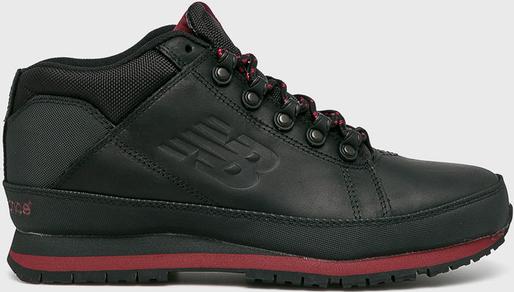 Czarne buty zimowe New Balance ze skóry