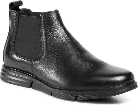 Czarne buty zimowe Sergio Bardi