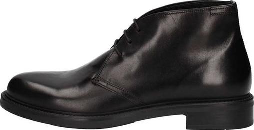 Czarne buty zimowe Triver Flight sznurowane