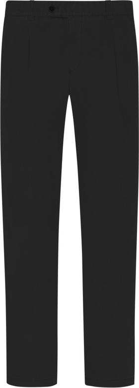 Czarne chinosy Eurex z bawełny