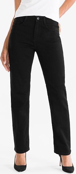 Czarne jeansy C&A w stylu casual