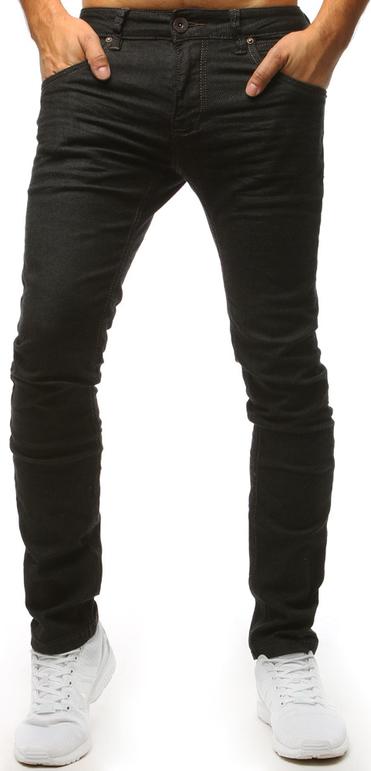 Czarne jeansy Dstreet z bawełny