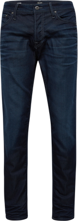 Czarne jeansy jack & jones