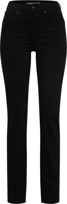 Czarne jeansy Levis w młodzieżowym stylu