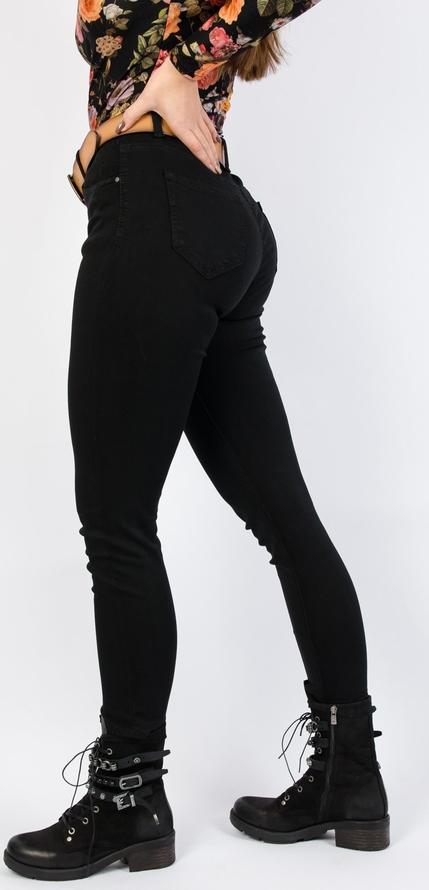 Czarne jeansy Olika z jeansu w stylu klasycznym