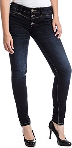Czarne jeansy Timezone z jeansu