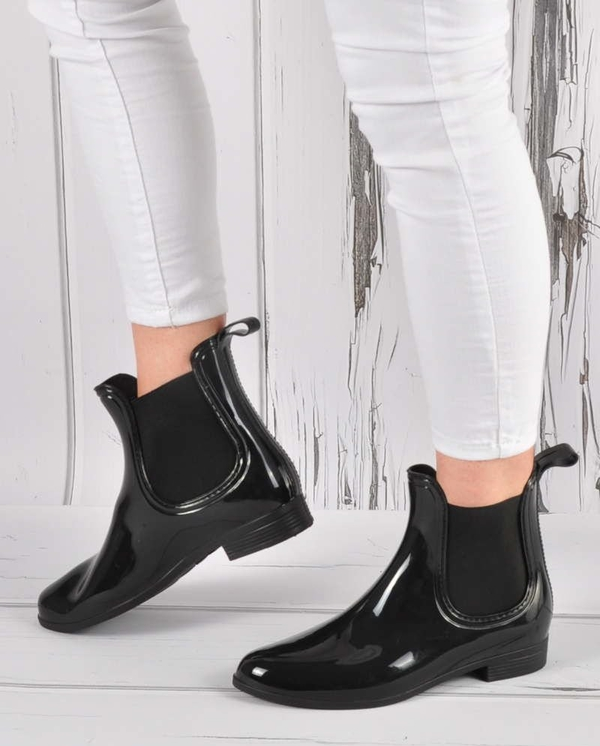 Czarne kalosze Pantofelek24