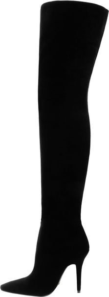 Czarne kozaki Prima Moda na obcasie