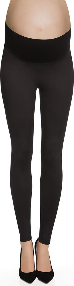 Czarne legginsy BasBleu w stylu casual
