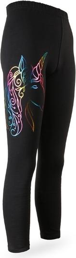 Czarne legginsy dziecięce Tup Tup
