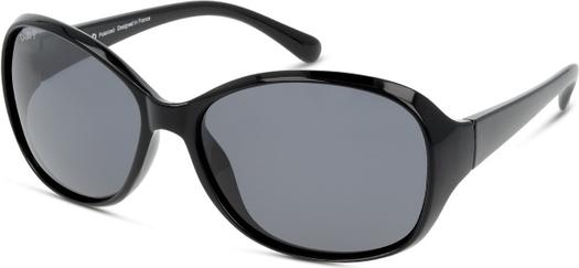 Czarne okulary damskie D-by-d