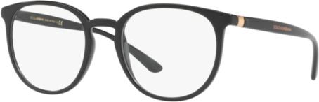 80% ZNIŻKI Czarne okulary damskie Dolce & Gabbana Akcesoria Damskie Okulary damskie FD ITBXFD-5