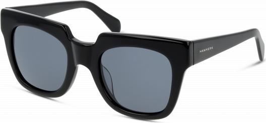 Czarne okulary damskie Hawkers